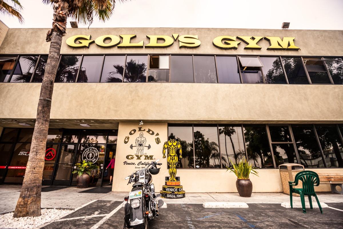 Legendary Gold's Gym, Venice, California, USA