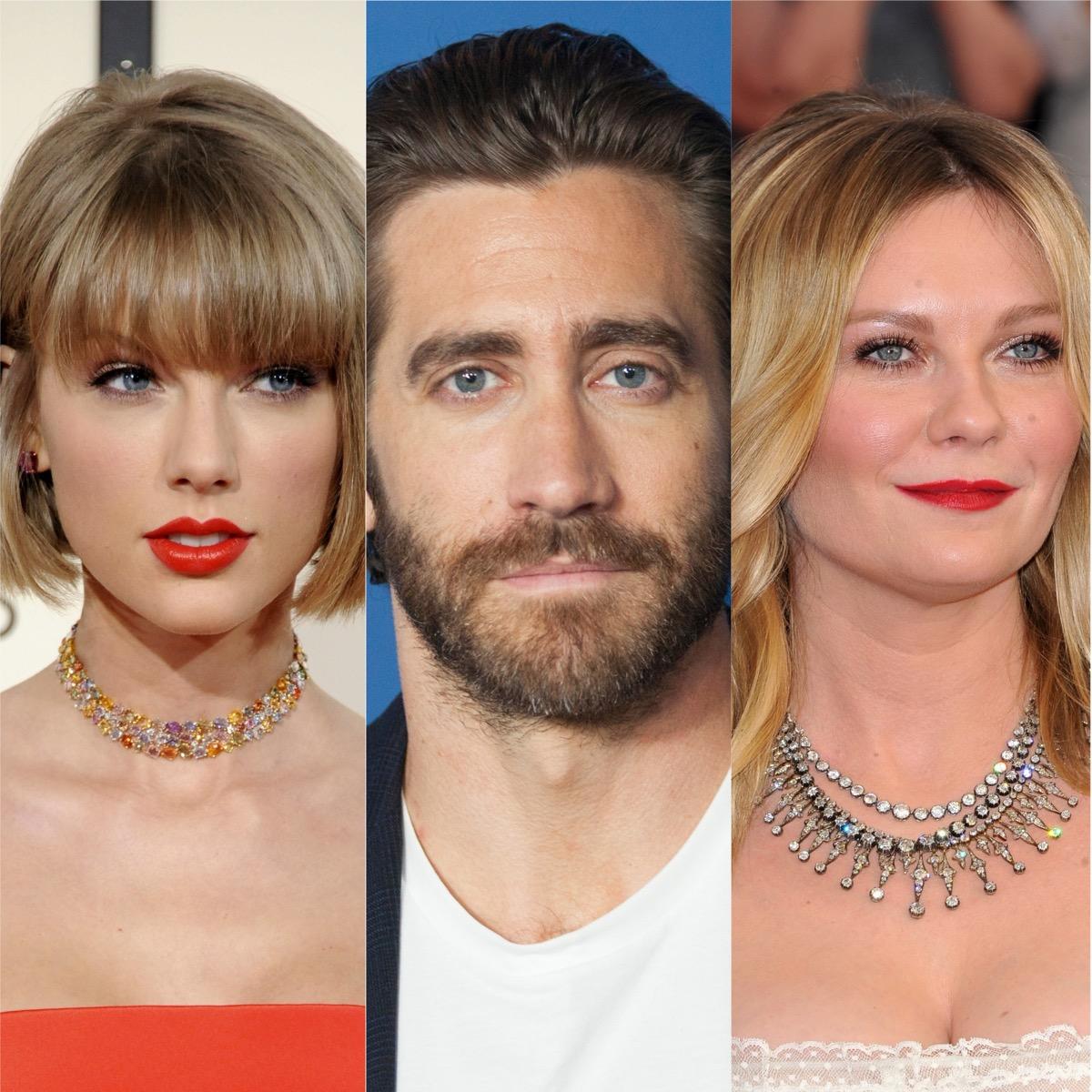 Taylor Swift, Jake Gyllenhaal, and Kirsten Dunst
