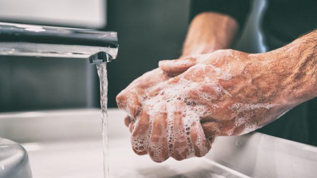 Hand wash senior