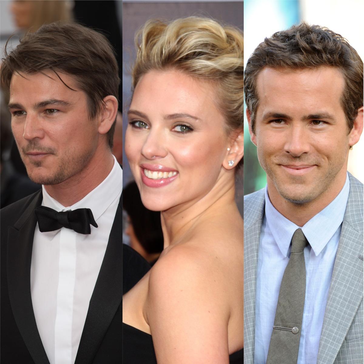 Josh Hartnett, Scarlett Johansson, and Ryan Reynolds