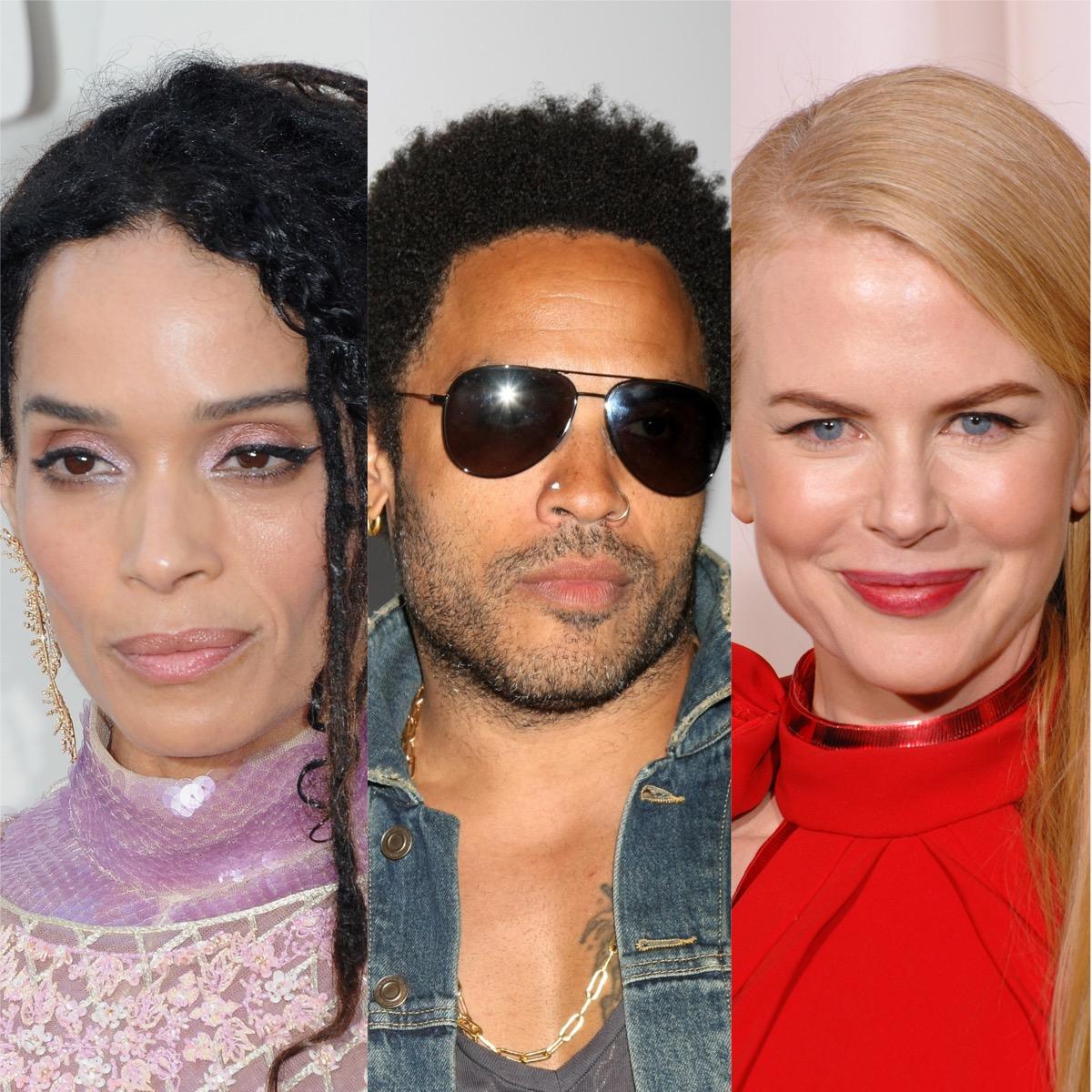 Lisa Bonet, Lenny Kravitz, and Nicole Kidman