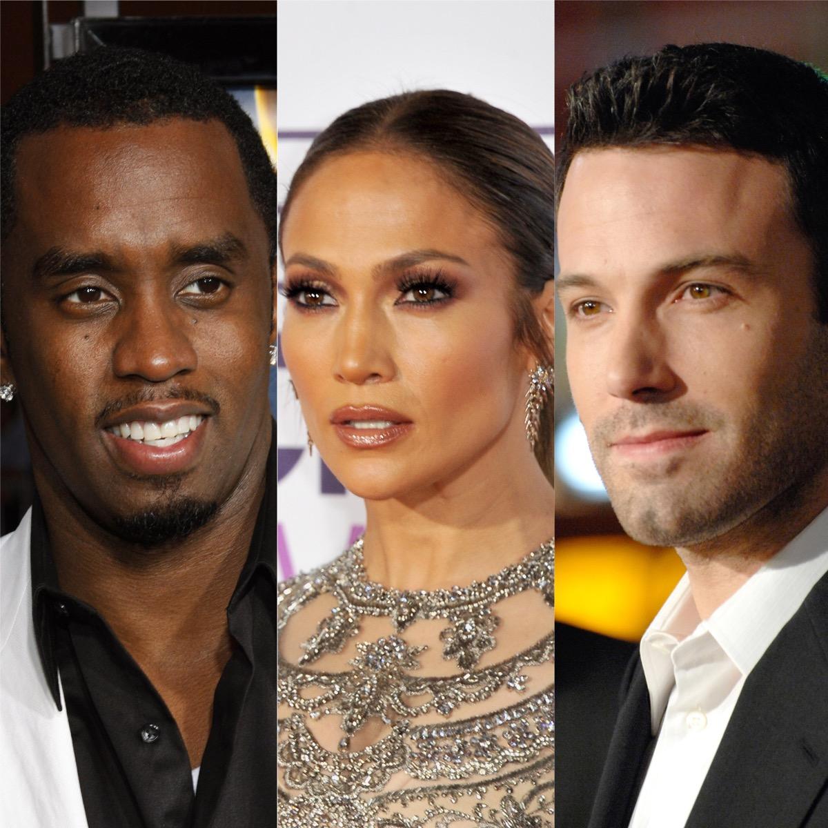 Sean Combs, Jennifer Lopez, and Ben Affleck