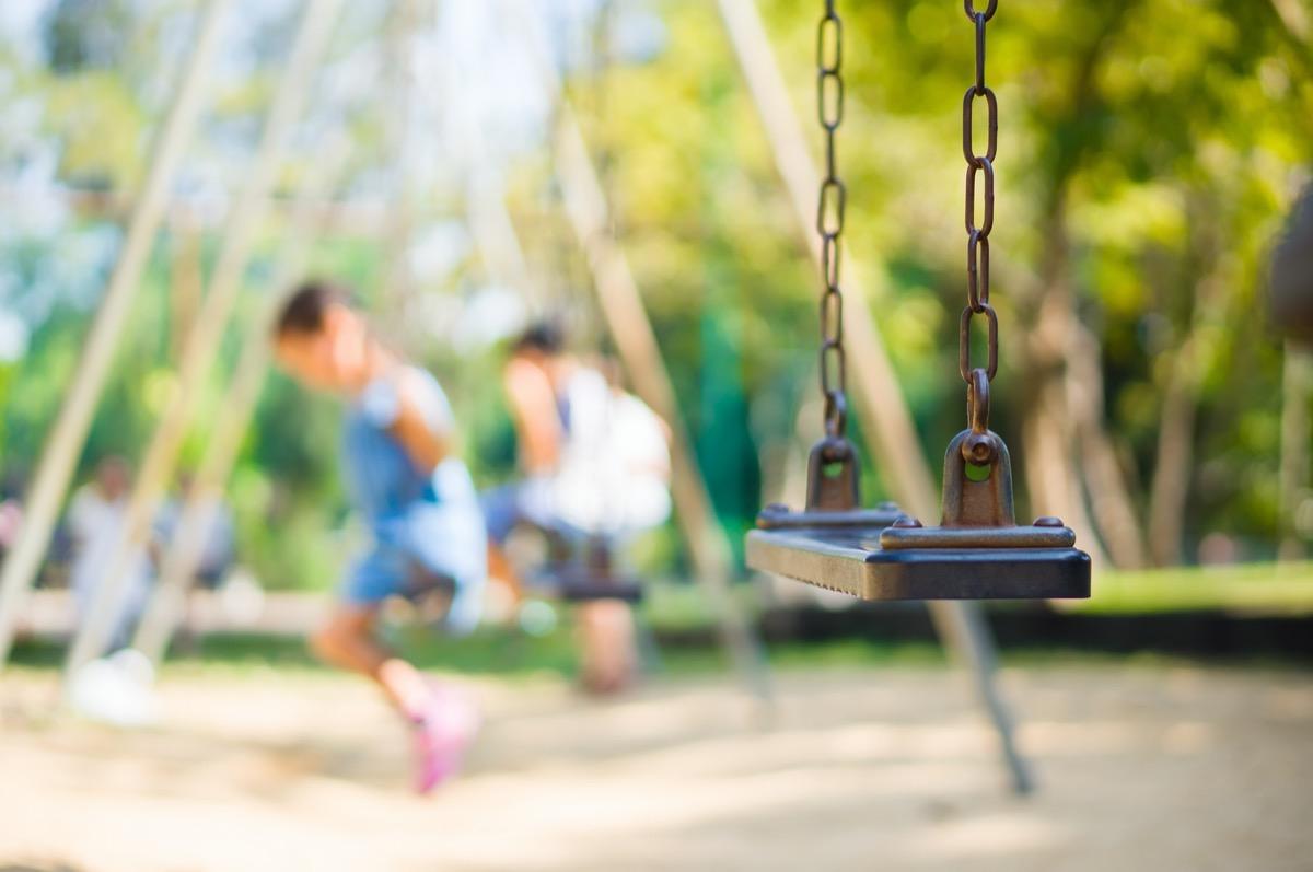 Kids on a playground