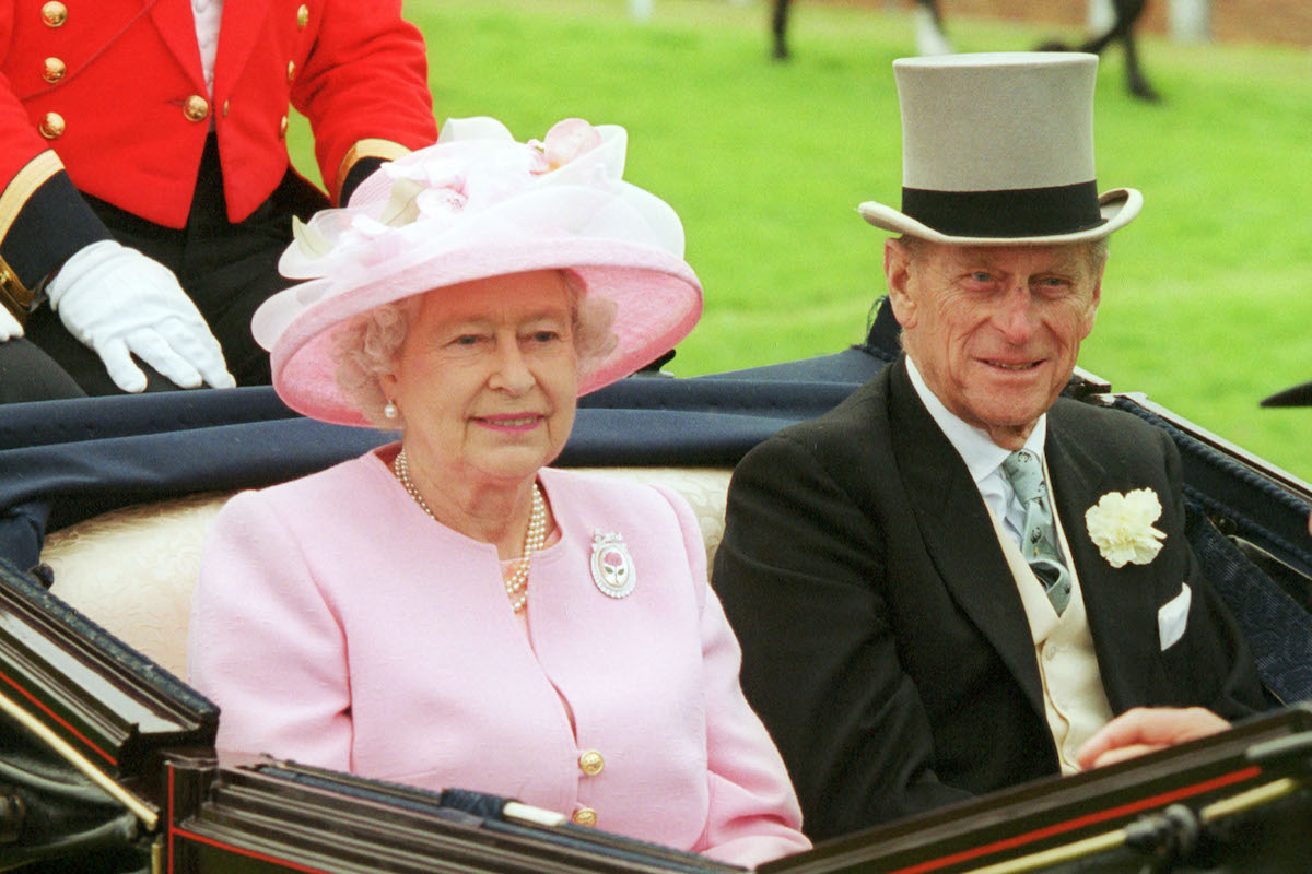 Your Royal Highness Queen Elizabeth and Prince Philip in 2003