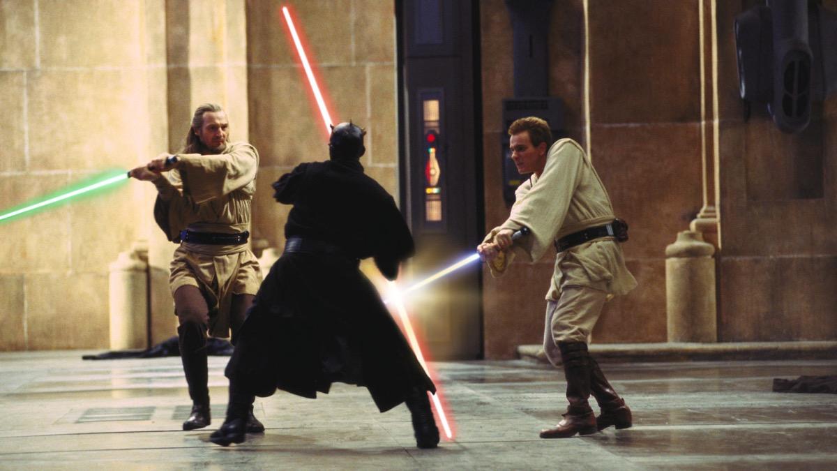 still from star wars the phantom menace