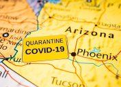 Arizona under quarantine