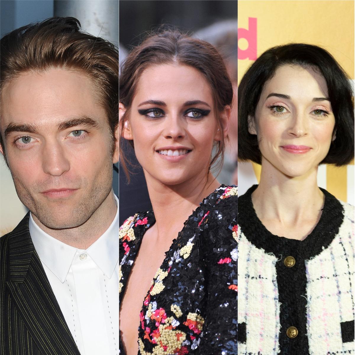 Robert Pattinson, Kristen Stewart, and St. Vincent