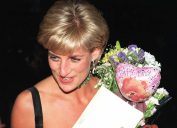 Princess Diana leaves Tate Gallery on her 36th birthday, July 1, 1997