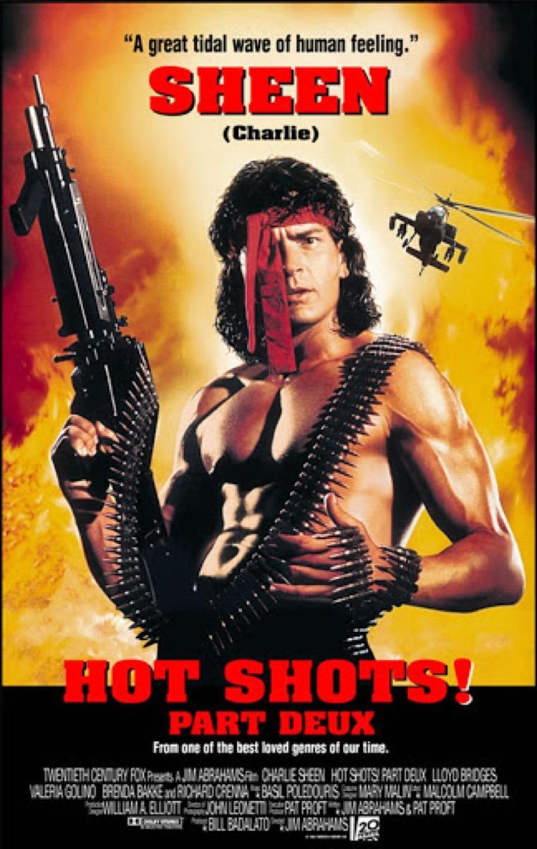 Hot Shots Part Deux poster