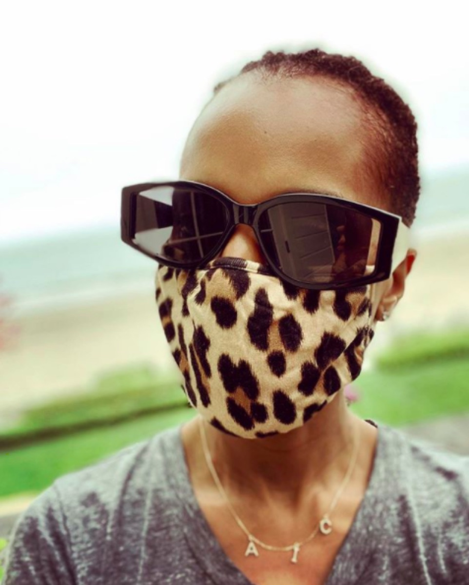 Kerry Washington Instagram mask selfie
