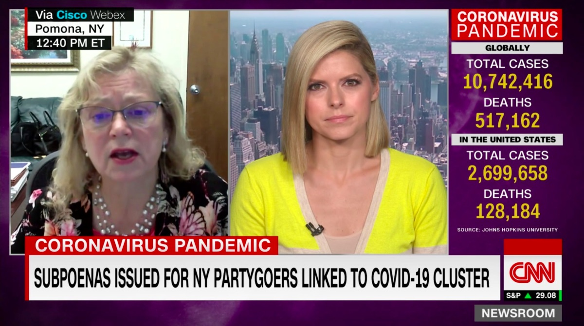 Patricia Ruppert on CNN
