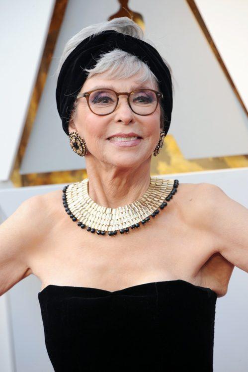 Rita Moreno at the 2018 Academy Awards