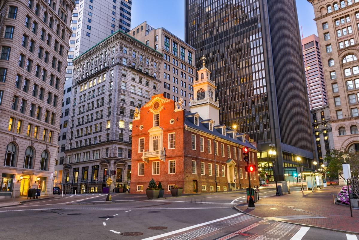 boston massachusetts street