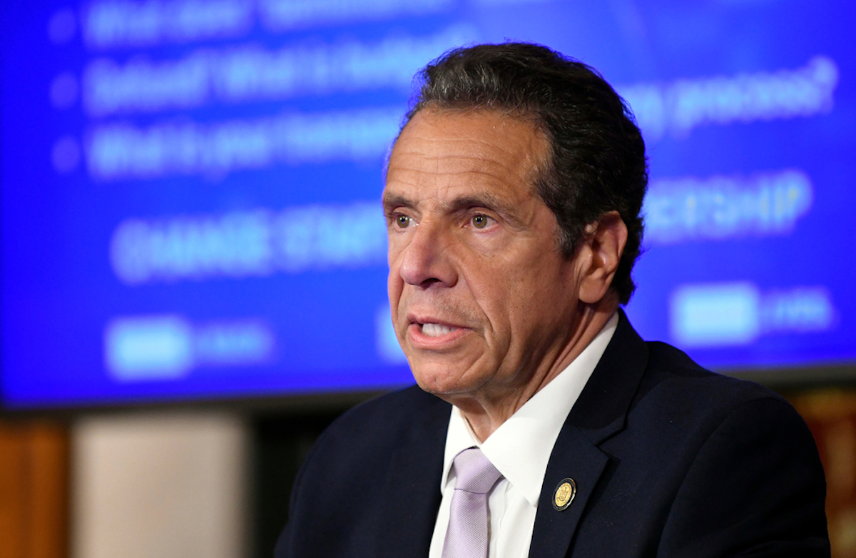 New York Gov. Andrew Cuomo announces updates on the spread of the coronavirus during news conference, ahead of July 4th weekend