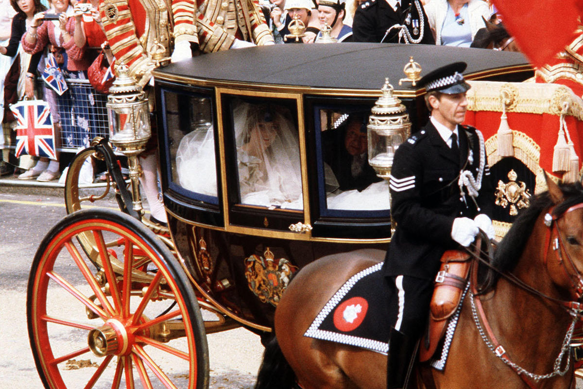 Prince of Wales and Lady Diana Spencer Wedding 1981