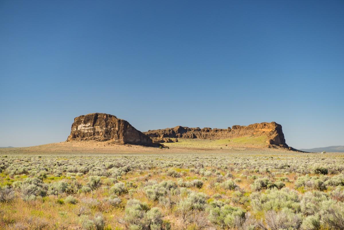 fort rock state park in oregon
