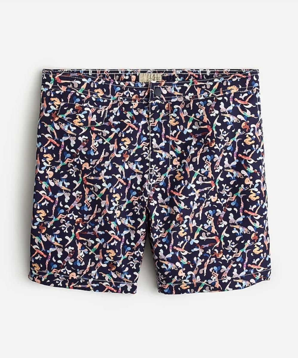 liberty of london print swim trunks