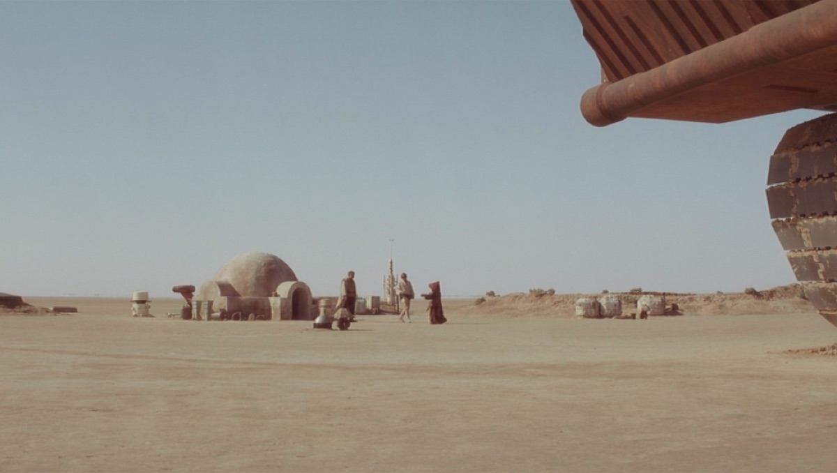 Tatooine landscape, A New Hope