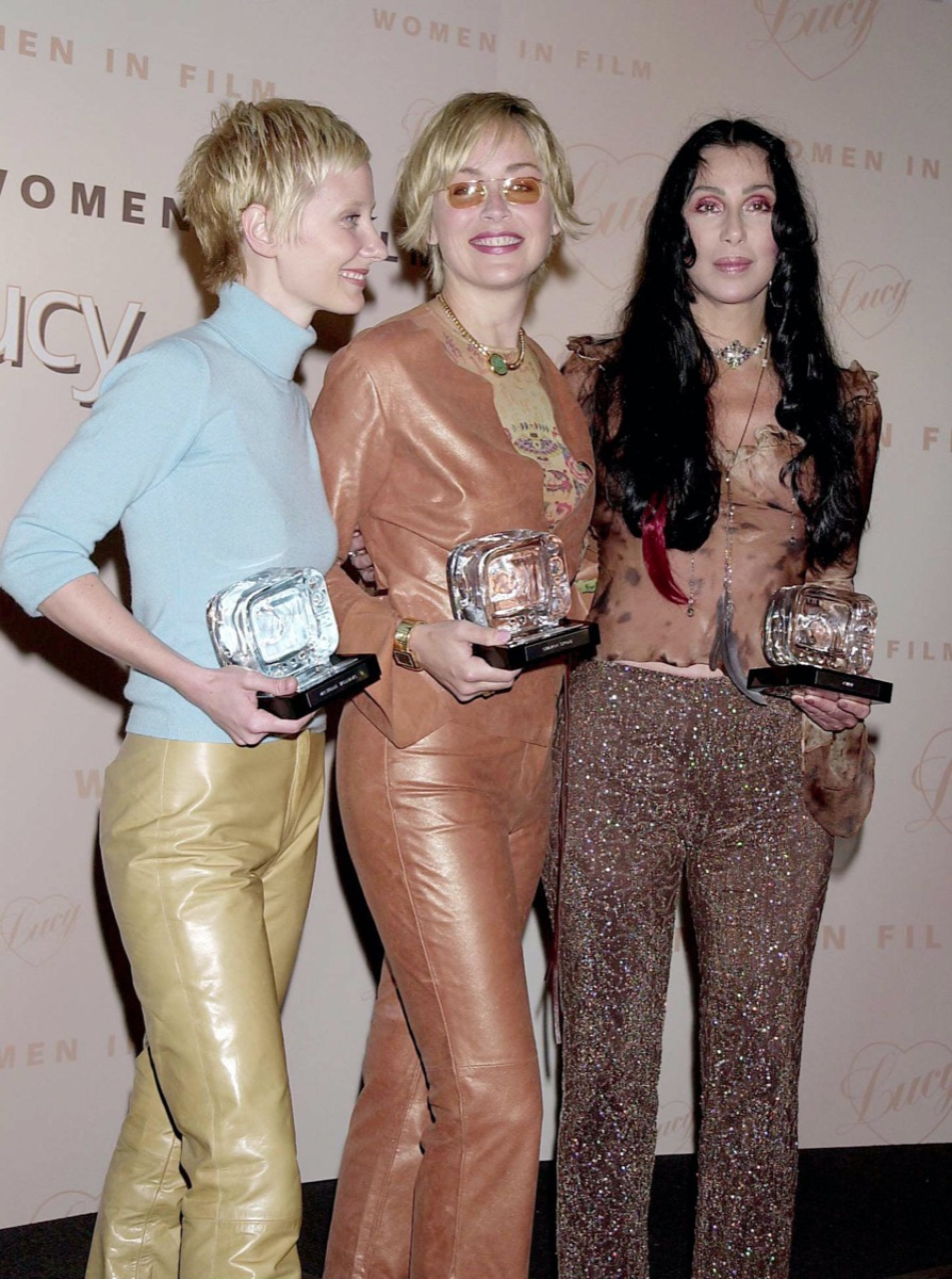 Anne Heche, Sharon Stone, and Cher