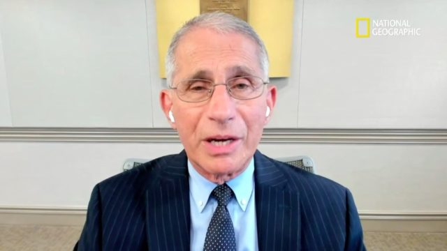Anthony Fauci National Geographic interview