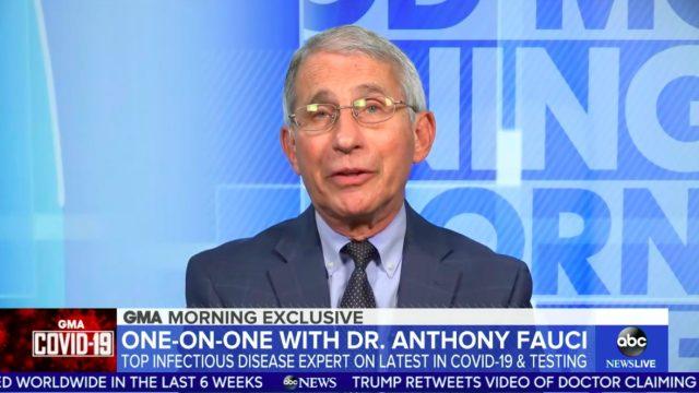 Anthony Fauci on GMA