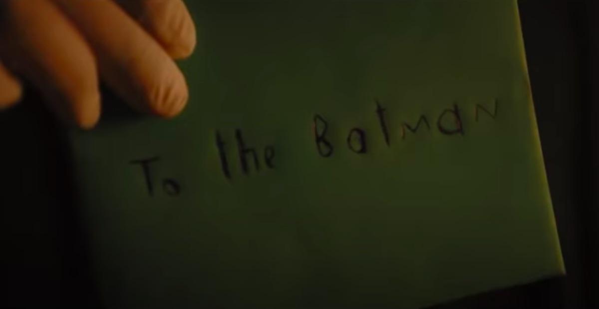 Batman note