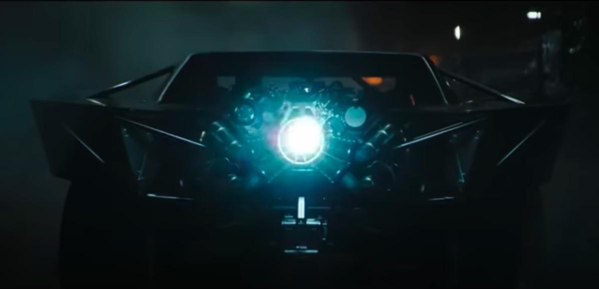 Batmobile in The Batman