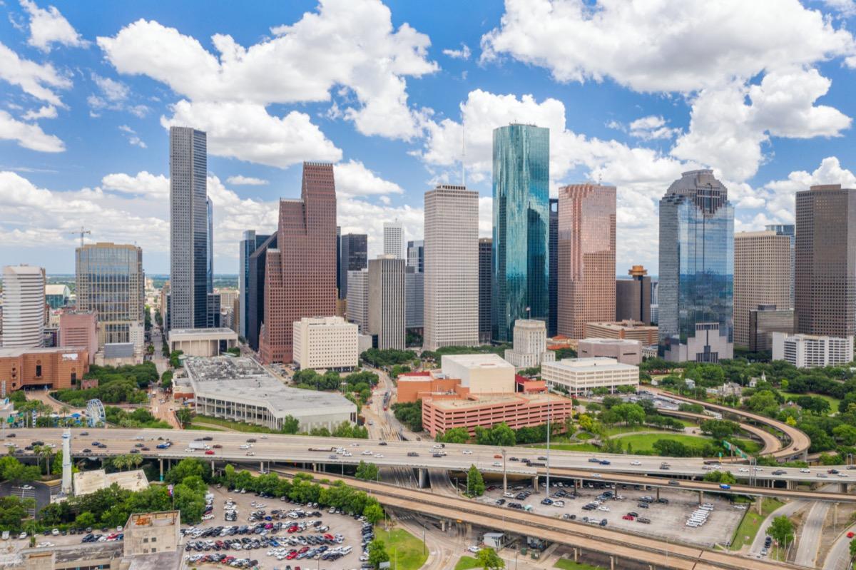Houston Texas skyline
