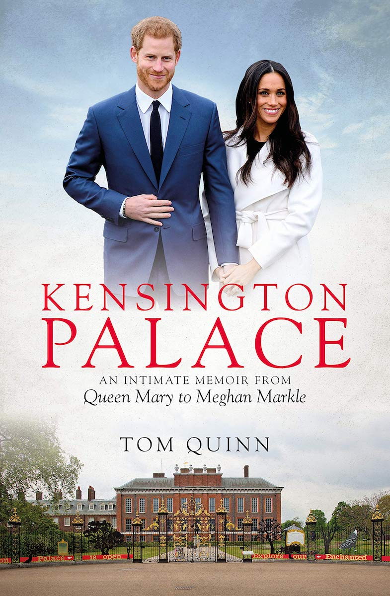 kensington palace book cover featuring prince harry and meghan markle
