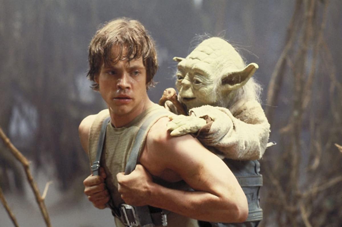 Luke and Yoda, Empire Strikes Back