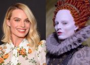 Margot Robbie on the red carpet and in Mary Queen of Scots