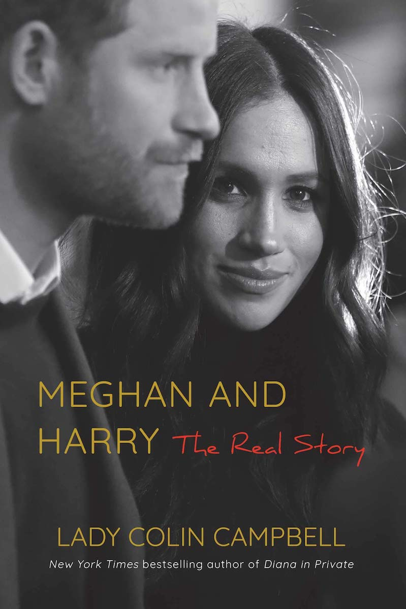 meghan and harry the real story book cover