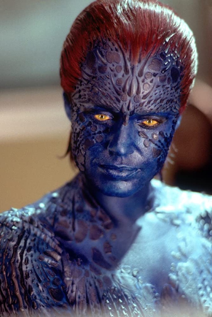Rebecca Romijn as Mystique in X2