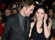 Robert Pattison and Kristen Stewart