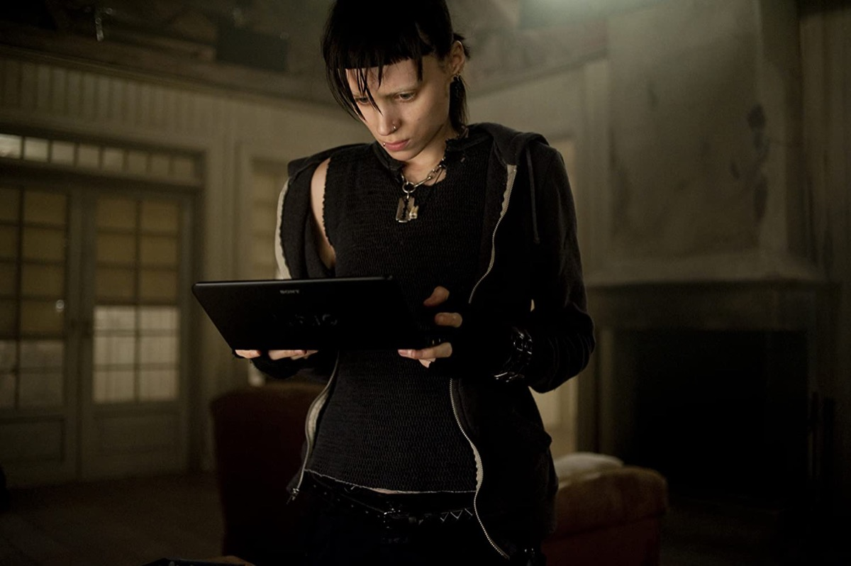 Rooney Mara as Lisbeth Salander in The Girl With the Dragon Tattoo