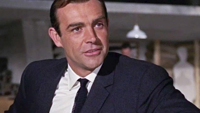 Sean Connery as James Bond in Goldfinger