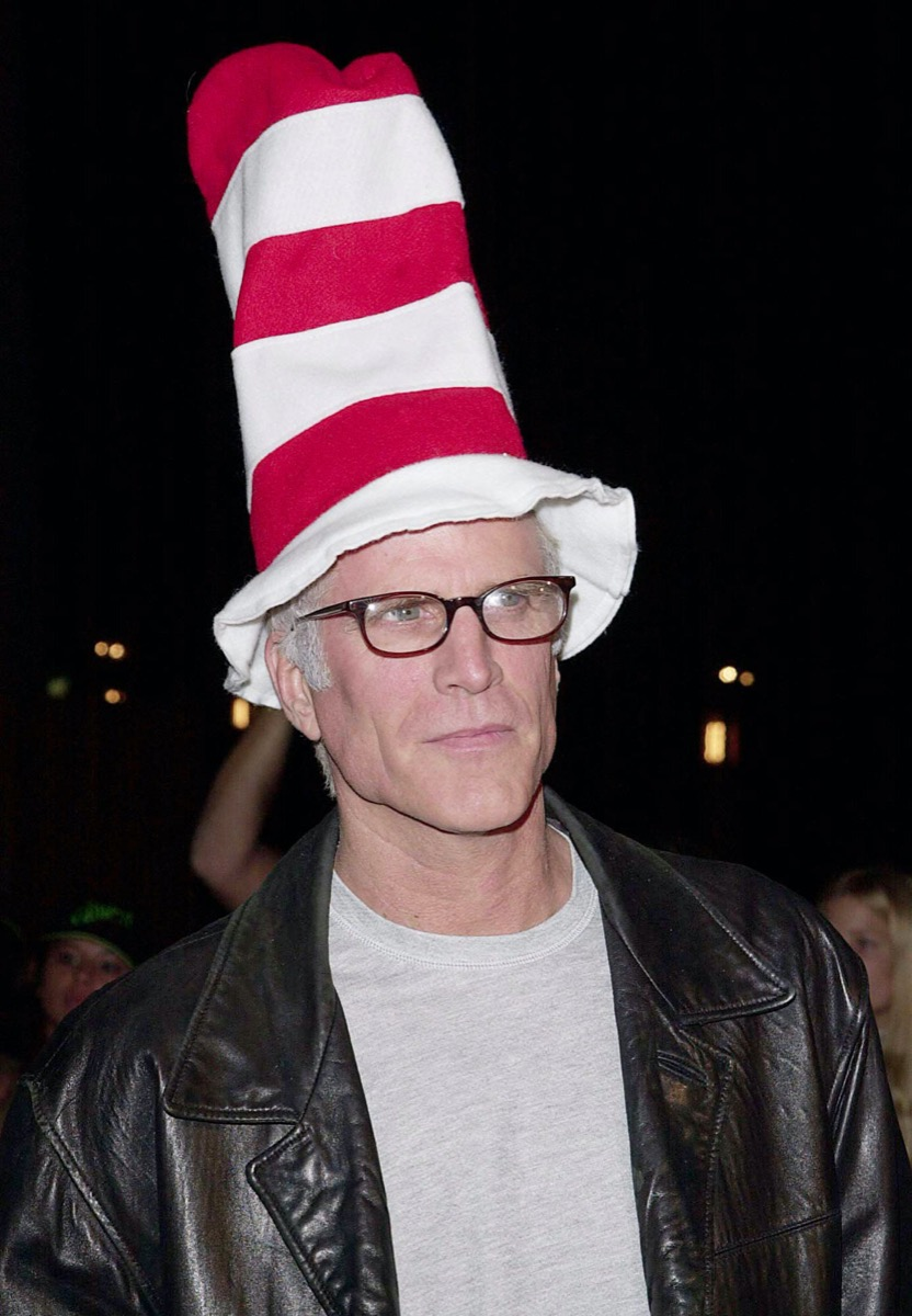 Ted Danson on The Grinch red carpet