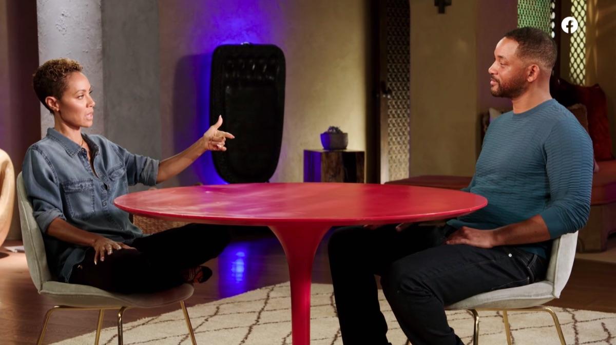 Will Smith and Jada Pinkett Smith on Red Table Talk