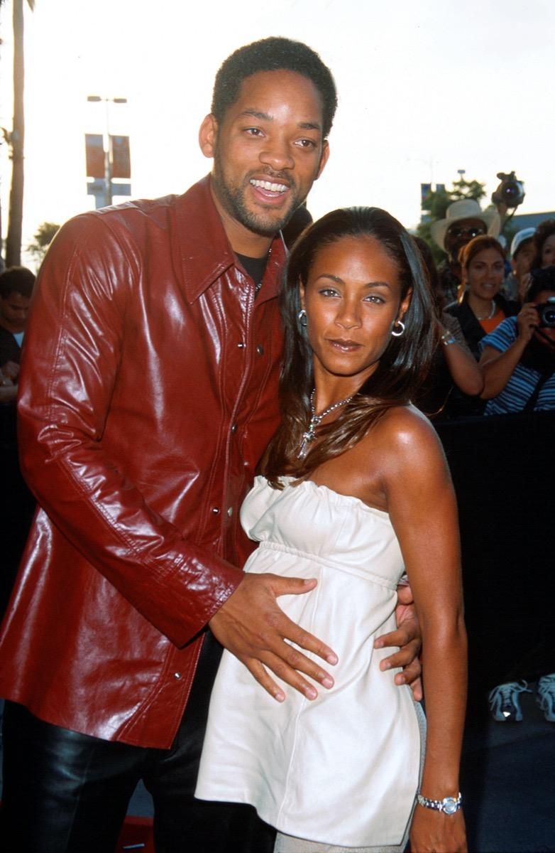 Will Smith and Jada Pinkett Smith in 2000
