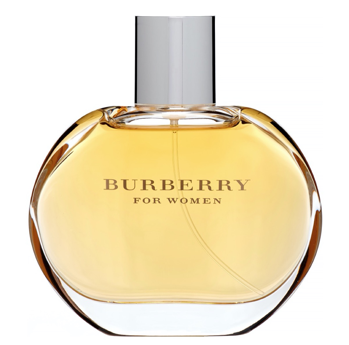 rounded bottle of burberry perfume