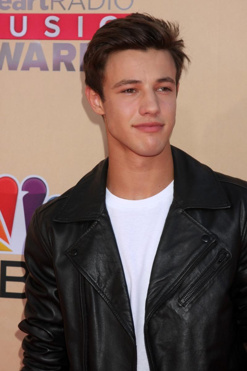 Cameron Dallas at the IHeartRadio Music Awards in 2015
