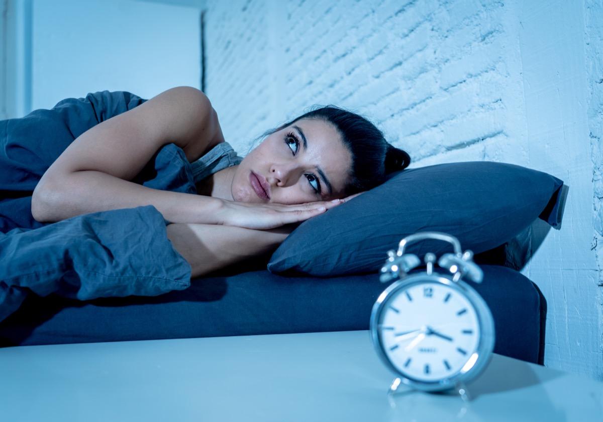 Woman can't sleep during daylight saving time
