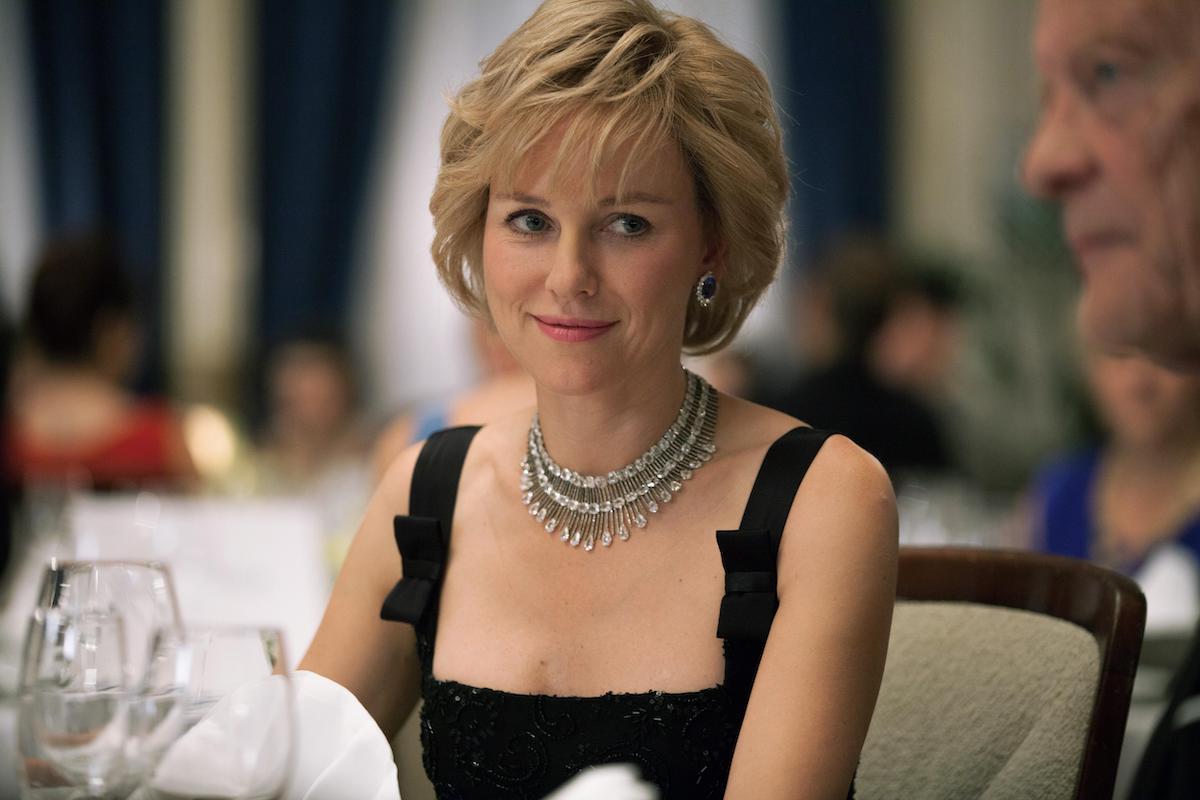 NAOMI WATTS as Princess Diana in 2013 movie