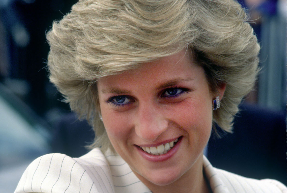 Princess Diana on Walkabout on 6 October 1987