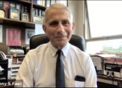 dr anthony fauci in his office