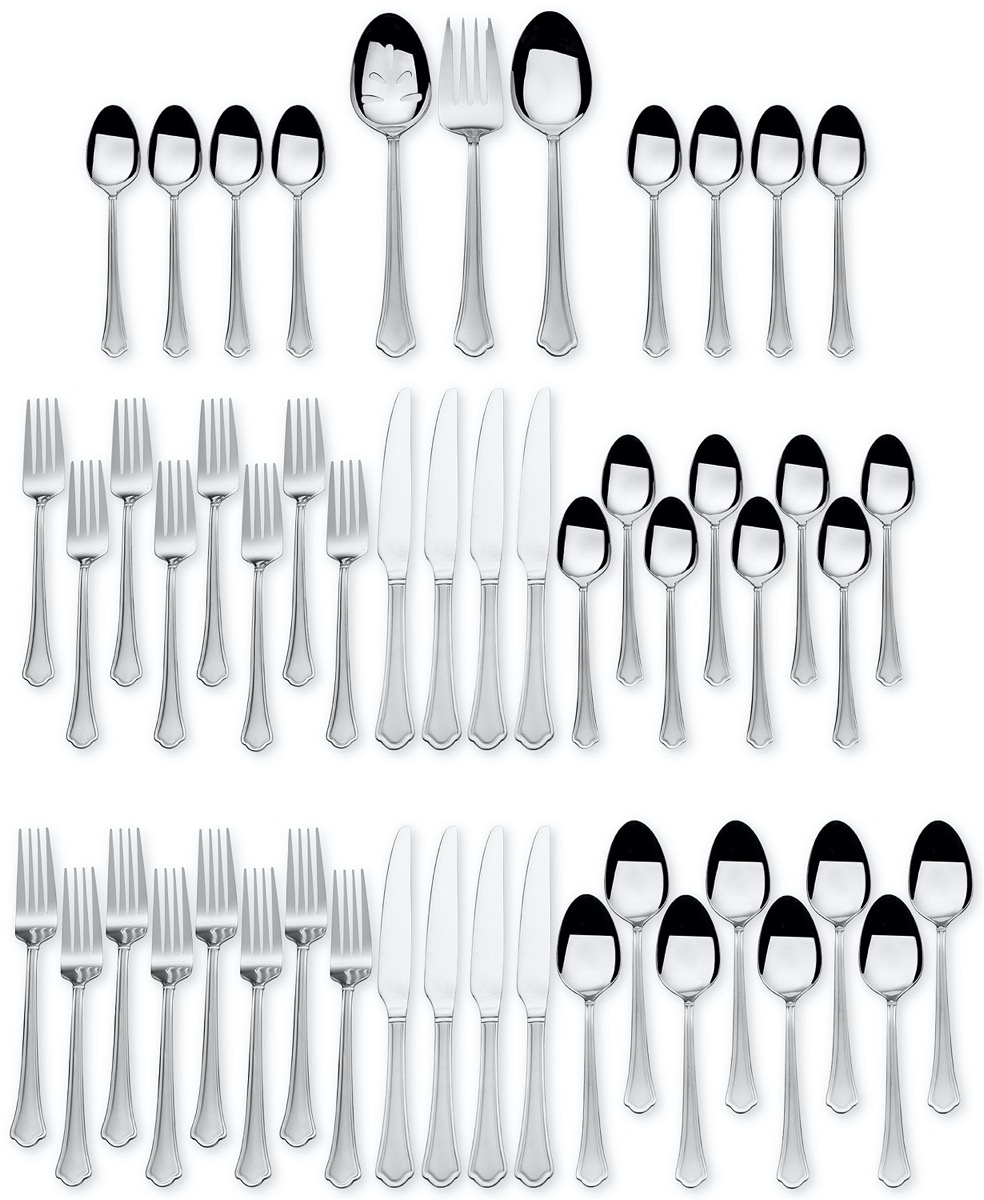 51 piece silverware set