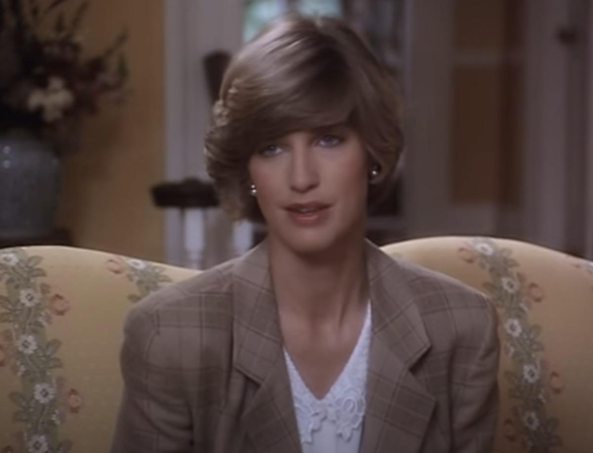 Nicola Formby as Princess Diana