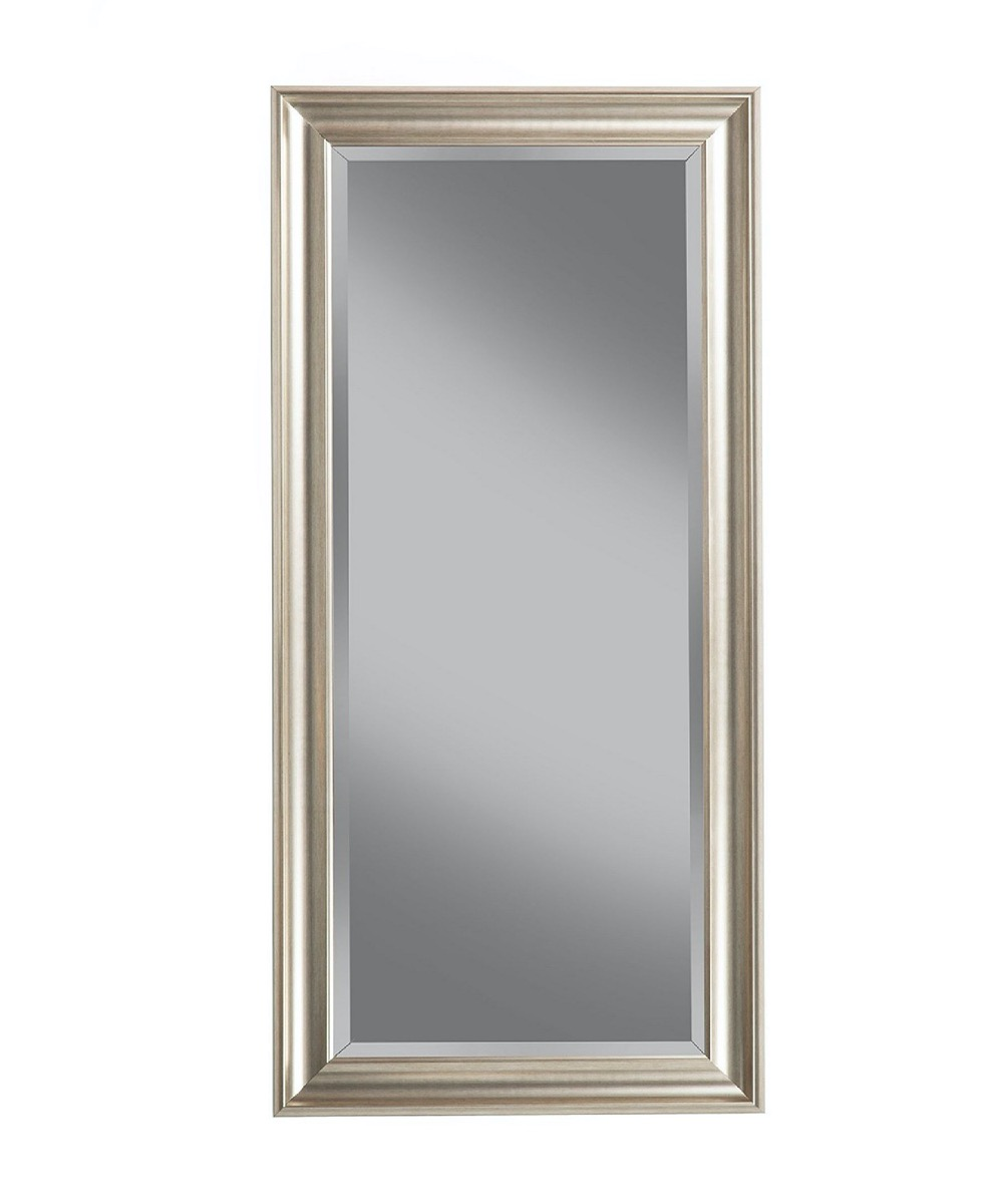 full length champagne colored mirror