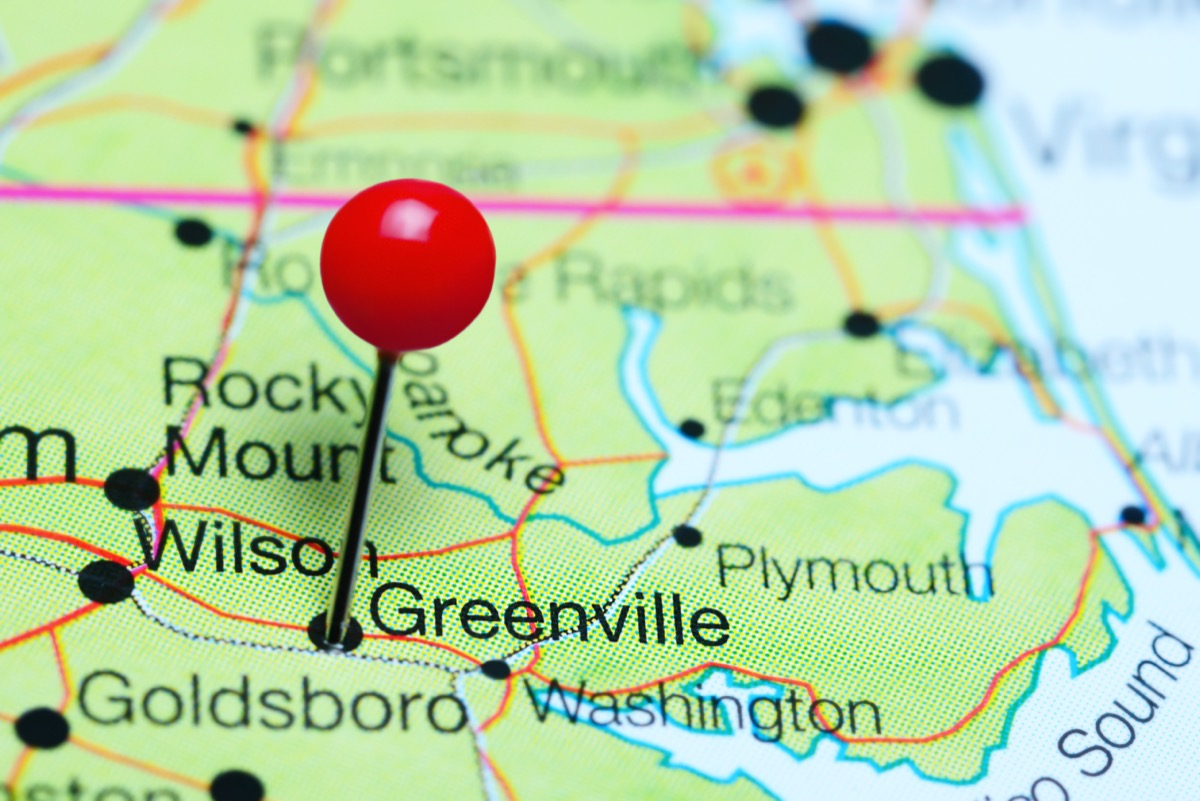map of greenville