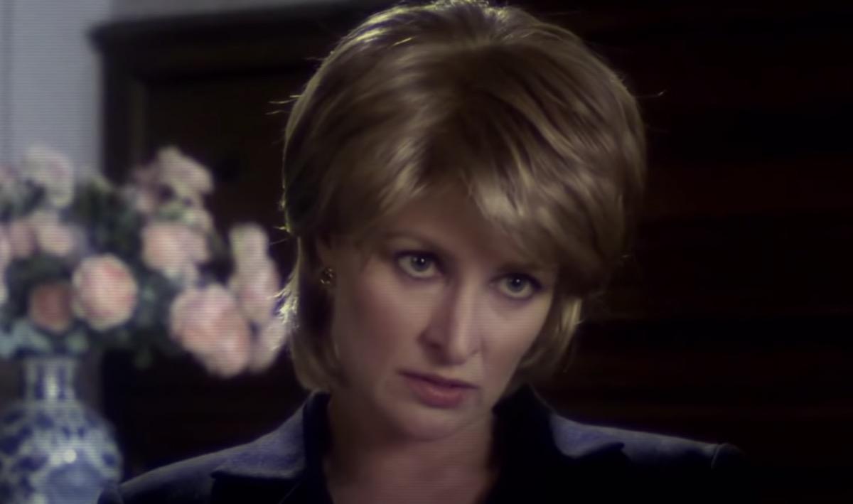 Lesley Harcourt as Princess Diana